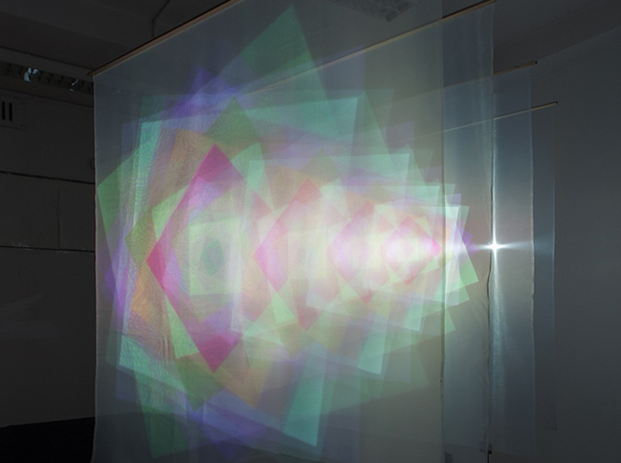 I Am Talking To You, audiovisual installation, INI Gallery, Prague, 2014